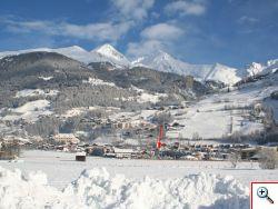 Matrei in Osttirol im Winterkleid